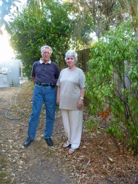 Carole and Alf Adins, along with many other residents, don't support the Council's plan to kerb and channel Melbourne Hill Road and nearby streets.