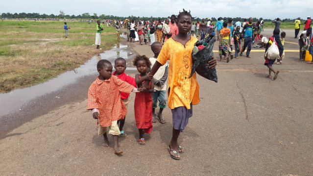 Refugees on the move in CAR (UNHCR)
