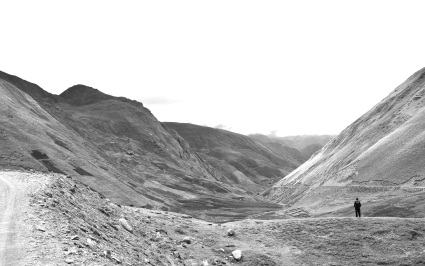 Andes black & white