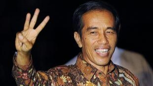 Joko Widodo beat off Prabowo Subianto to win the presidency (AAP)