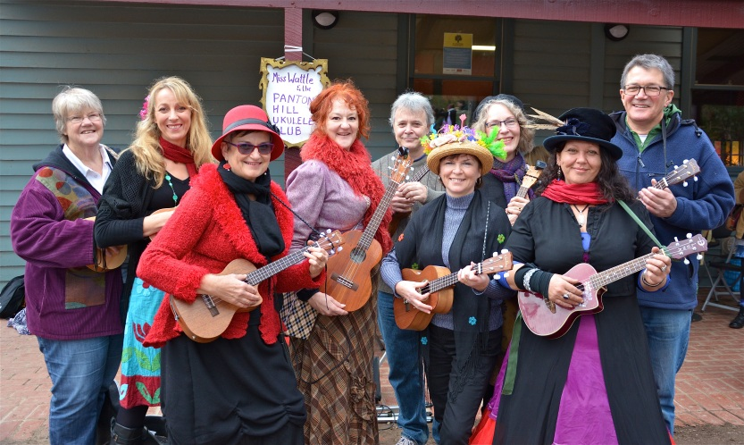 Miss Wattle and the Panton Hill Ukulele Club