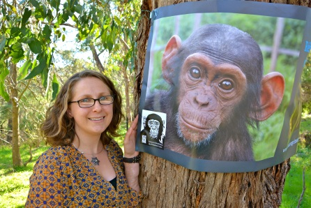 Andrea is now working from her home in Warrandyte to help the DRC's endangered primates